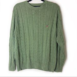 Tommy Hilfiger Men's Green Sweater